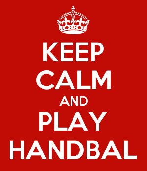 KEEP CALM AND PLAY HANDBAL
