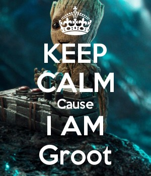 KEEP CALM Cause I AM Groot