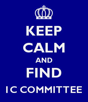 KEEP CALM AND FIND 1C COMMITTEE