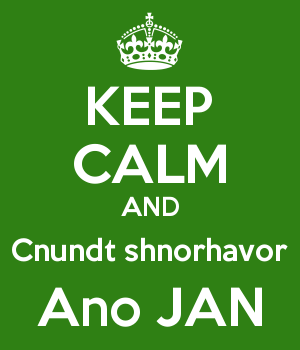 KEEP CALM AND Cnundt shnorhavor Ano JAN