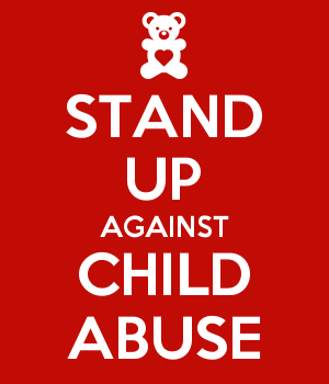 STAND UP AGAINST CHILD ABUSE