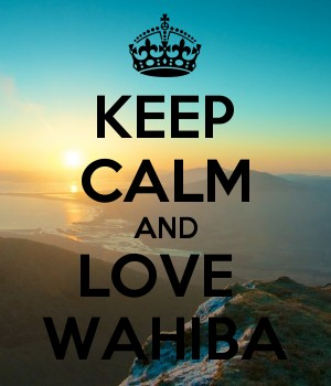 KEEP CALM AND LOVE  WAHIBA